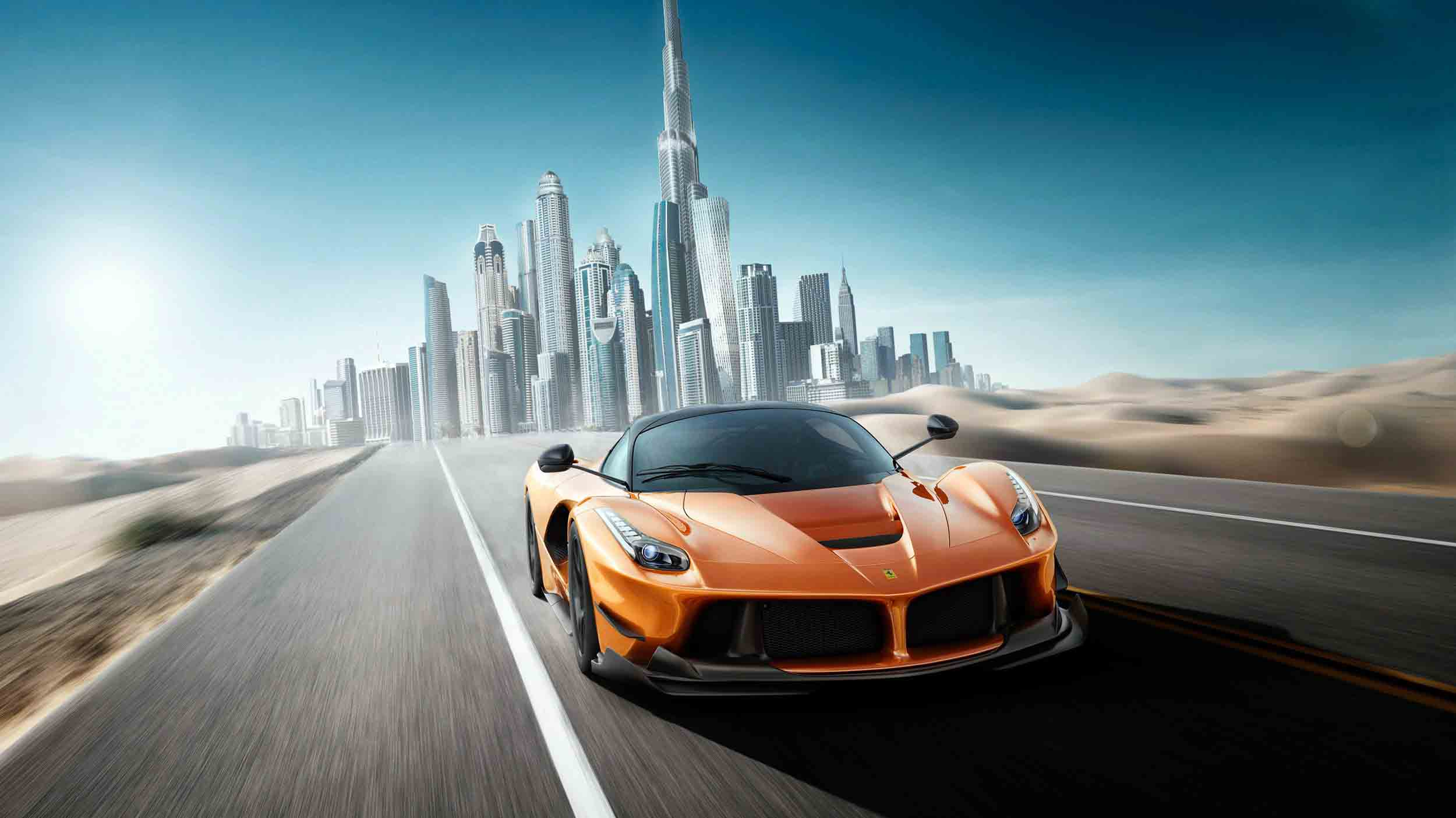 Rent Luxury and Sports Cars in Dubai